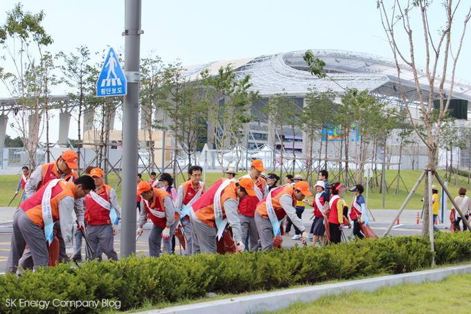 지역민과화합의 장열다,SK인천석유화학 벚꽃축제 관련사진10
